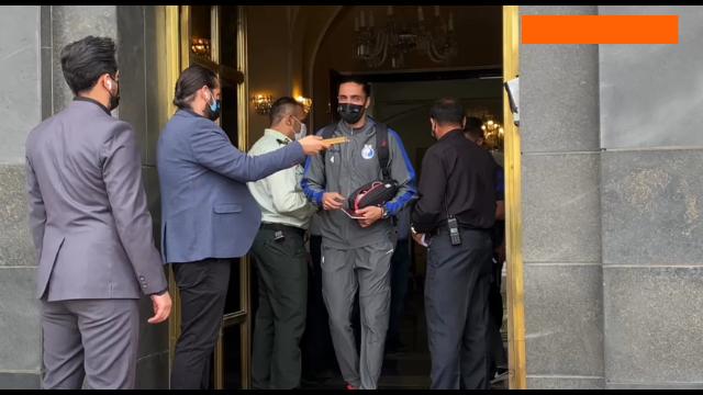 اولین روز سفر استقلال به جده از نگاه دوربین باشگاه این باشگاه / ویدیو