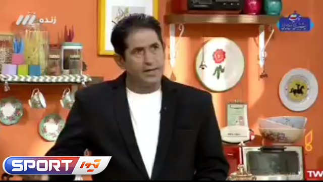 تشکر سرمربی تیم ملی تنیس از علی کریمی / ویدیو