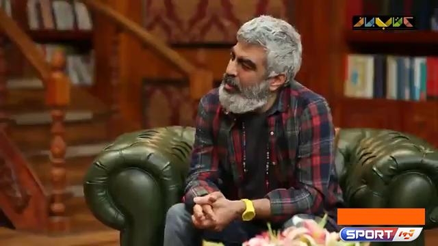 پژمان جمشیدی: بین فوتبال و بازیگری، فوتبال را انتخاب می کنم / فیلم